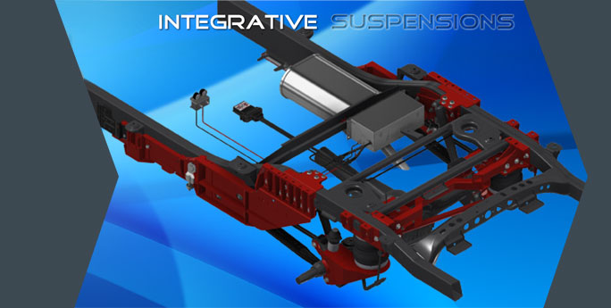 Top Drive System Integrative Suspensions